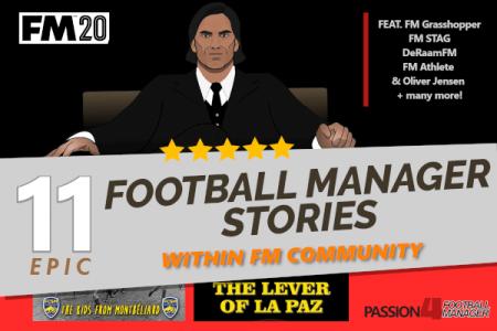 11 epic Football Manger 2020 stories
