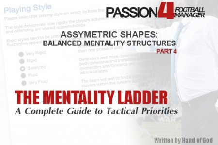 Asymmetric shapes balanced mentality structures