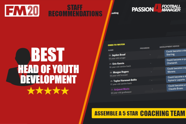 FM20 Best head of youth development