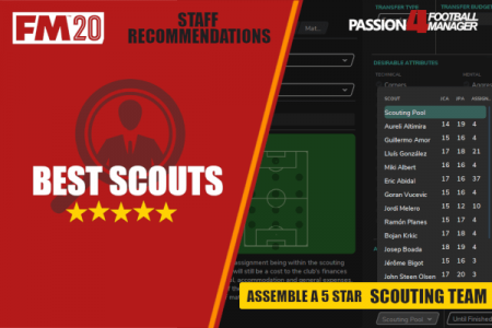 Football Manager 2020 Best Scouts