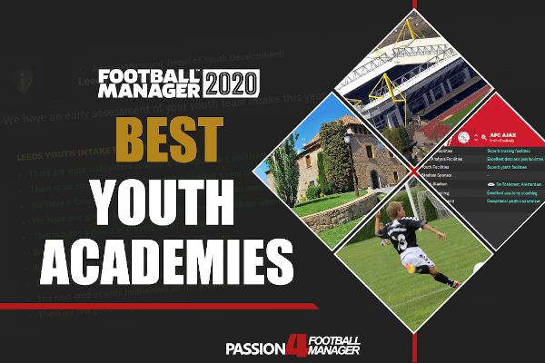 Best Youth Academies in Football Manager 2020