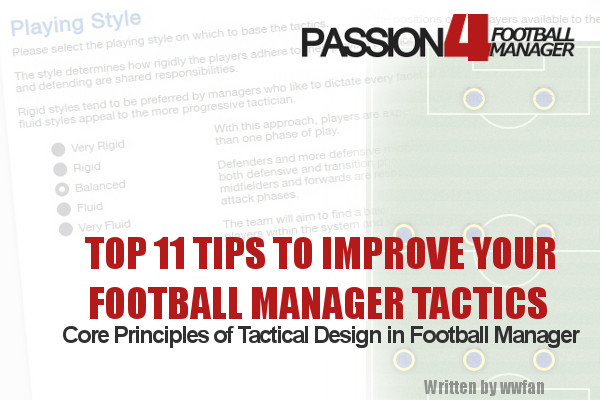 11 tips to improve your Football Manager Tactics