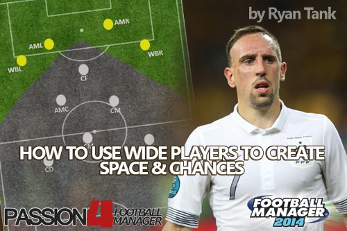 Create Space with Wide players in Football Manager