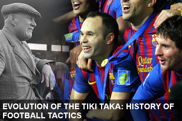 The Evolution of Barcelonas Tiki Taka Playing Style | History of Football Tactics