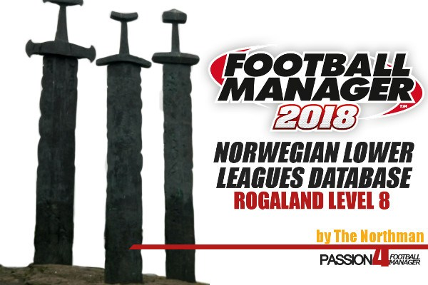 FM18 Norwegian Lower League Database Rogaland