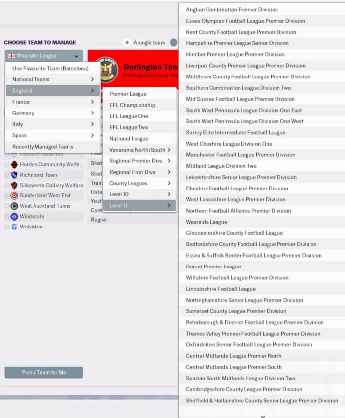 FM19 English Lower Leagues Level 15 Database • Passion4FM