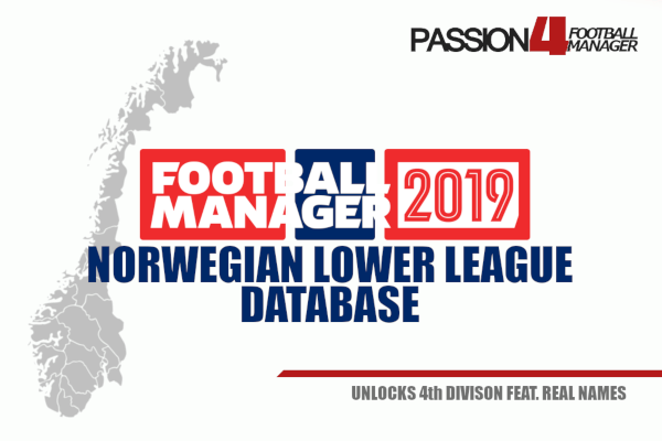 FM19 Norwegian lower league database
