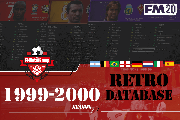 FM20 1999-2000 retro database by FMretrogroup