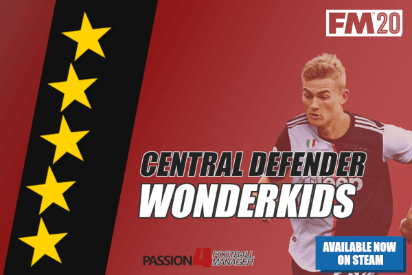 FM20 Central Defender Wonderkids