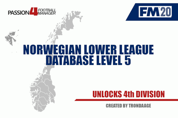 FM20 Norwegian Lower league database