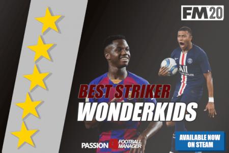 FM20 Striker Wonderkids