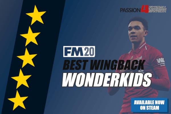 FM20 Wingback wonderkids