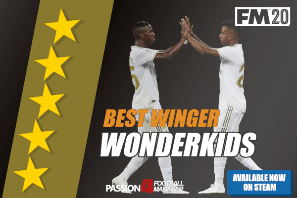 FM 2020 Winger wonderkids