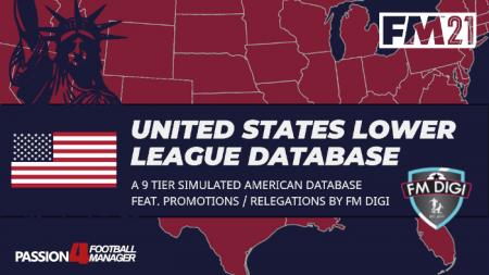 FM21 United States lower league database