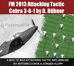 FM13 Best Attacking Tactic Cobra 3-6-1