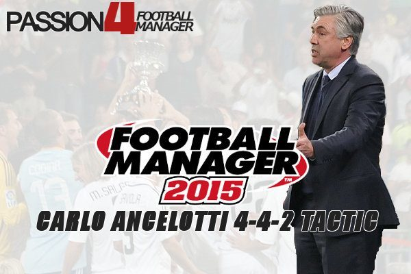 Football Manager 2015 Carlo Ancelotti Tactic