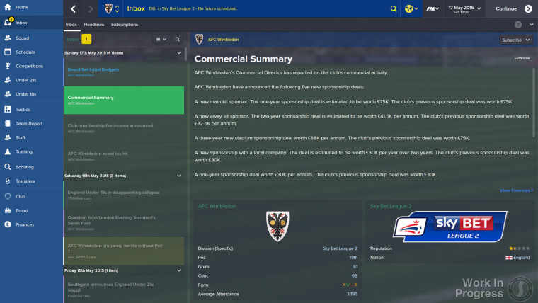 FM15 Commercial Summary