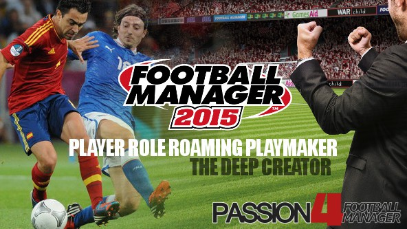 Football Manager 2015 Player Role Roaming Playmaker