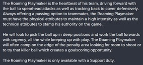 Football Manager 2015 Roaming Playmaker manual