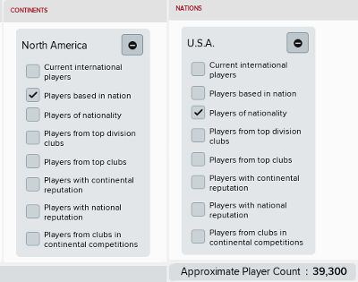 Football Manager 2018 American Lower League Database Level 7