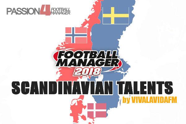 Football Manager 2018 scandinavian talents