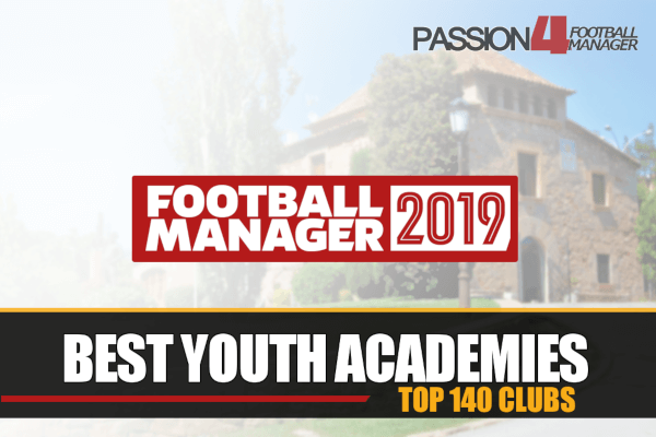 best youth academies in Football Manager 2019