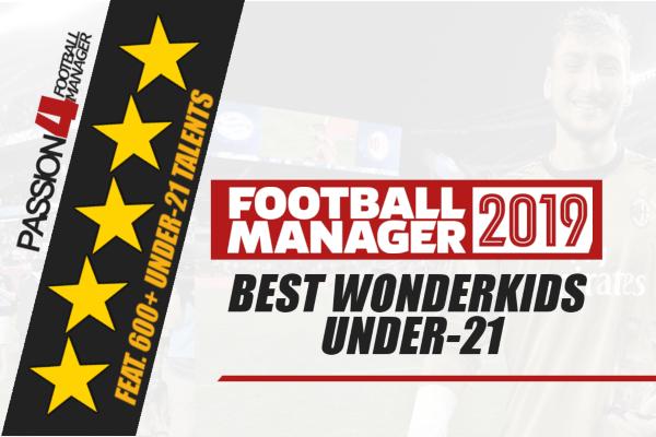 Best Football Manager 2019 Wonderkids