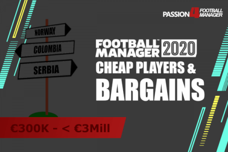 Football Manager 2020 bargains and cheap players