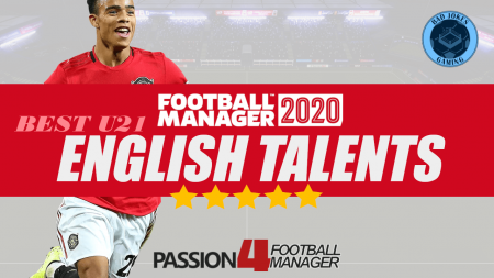 Best English talents in Football Manager 2020