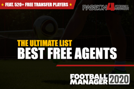 Football Manager 2020 best free agents
