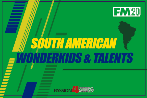 FM20 Best South American Talents