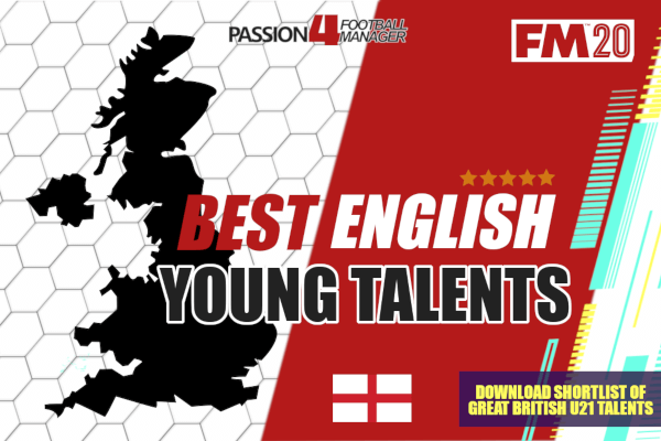 FM20 Best young Talents