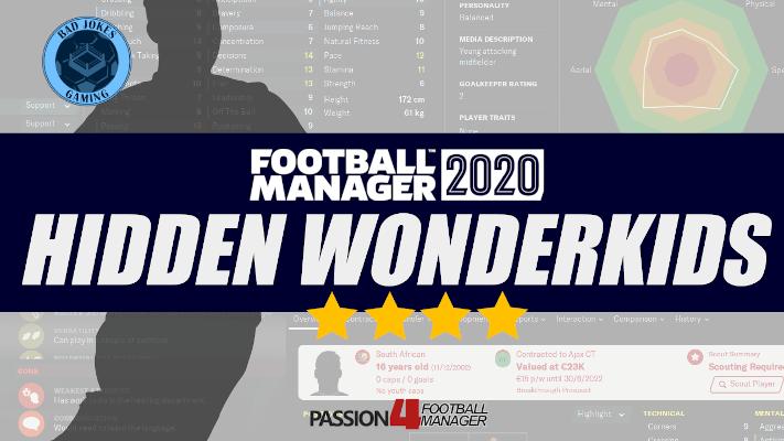 FM20 Hidden Wonderkids