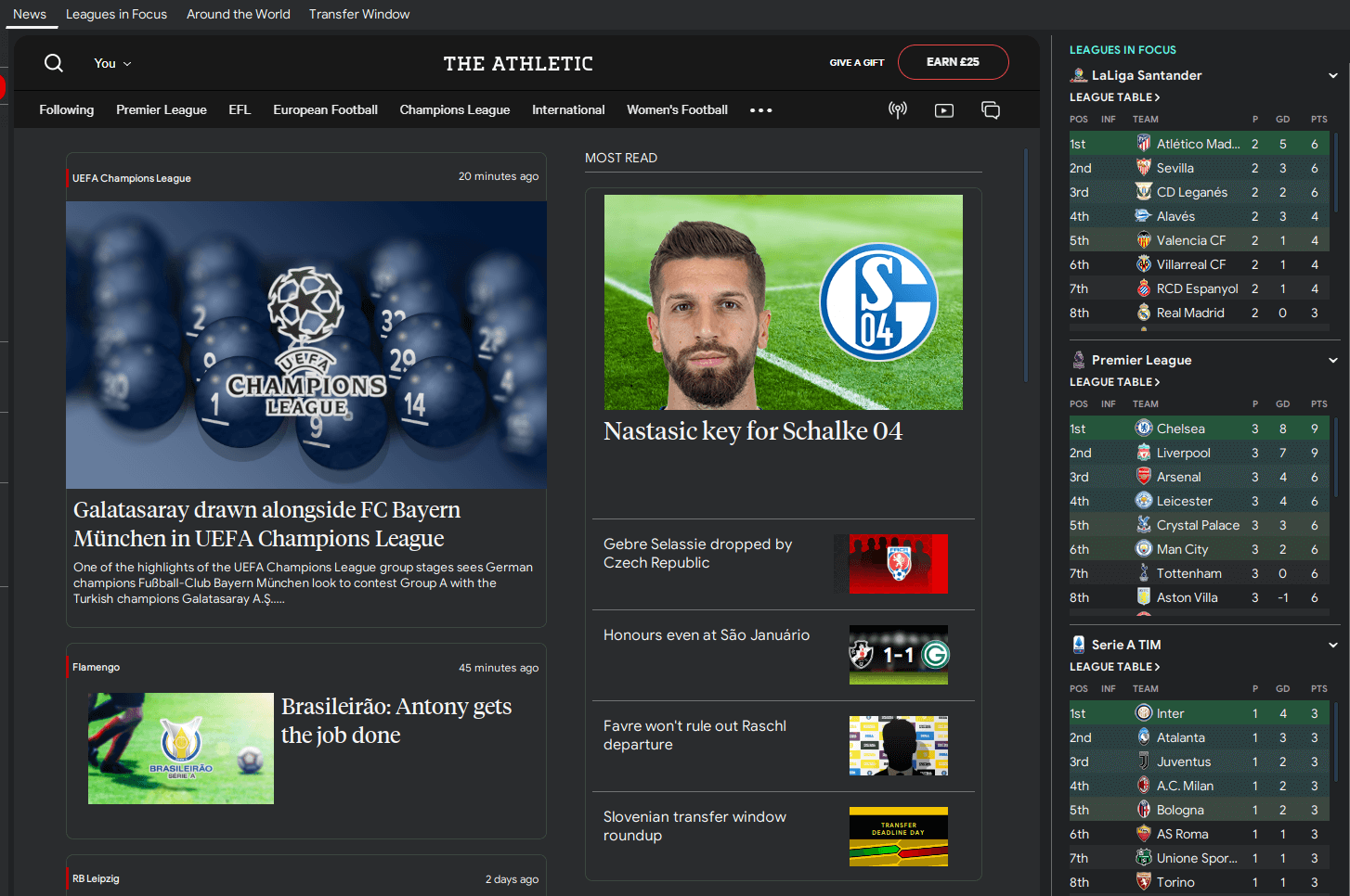 FM20 TCS Skin The Athletic News Header