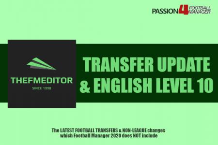 Football Manager 2020 thefmeditor transfer update