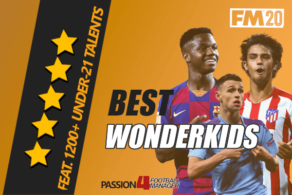 Football Manager 2020 Wonderkids & Talents