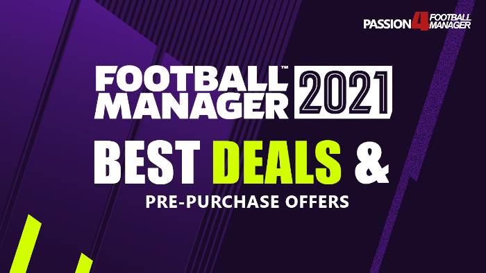 Football Manager 2021 Best Deals & Pre-purchase offers