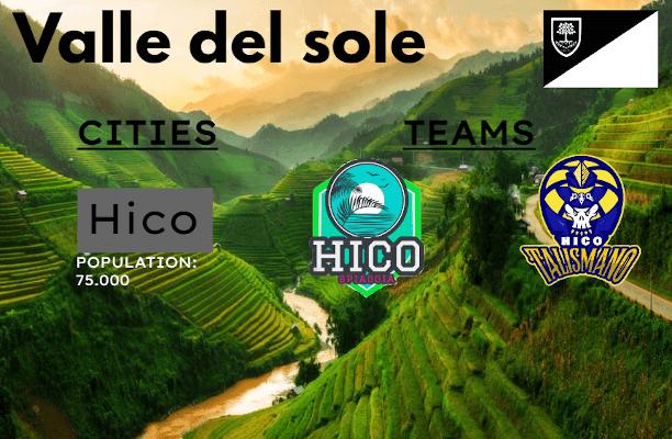 Valle del Sole - Cospeia Fantasy Database