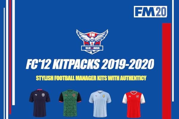 Football Manager FC12 Kitpacks 2020