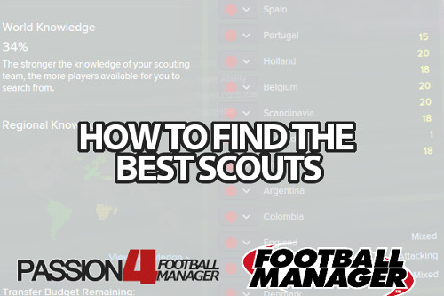 Football Manager Scouts key attributes