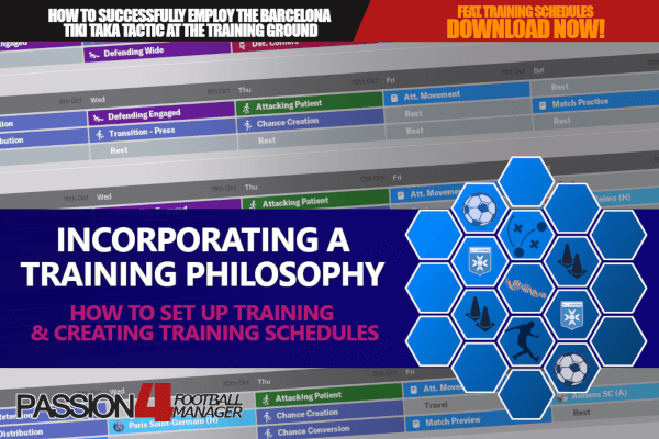 Incorporating a training philosophy | Football Manager Training Guide