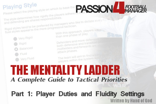 Mentality Ladder: Player Duty and Fluidity settings