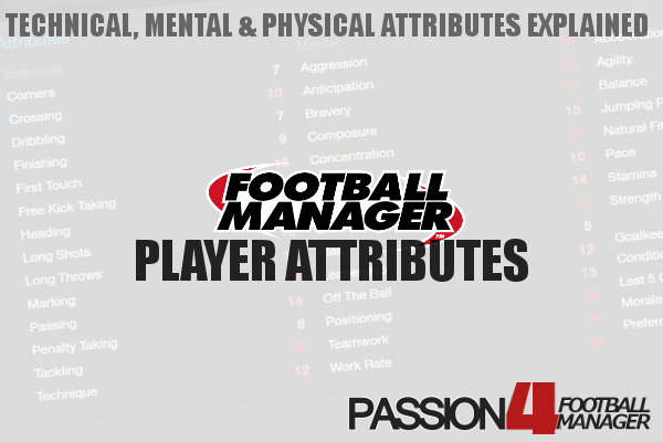Football Manager Player Attributes