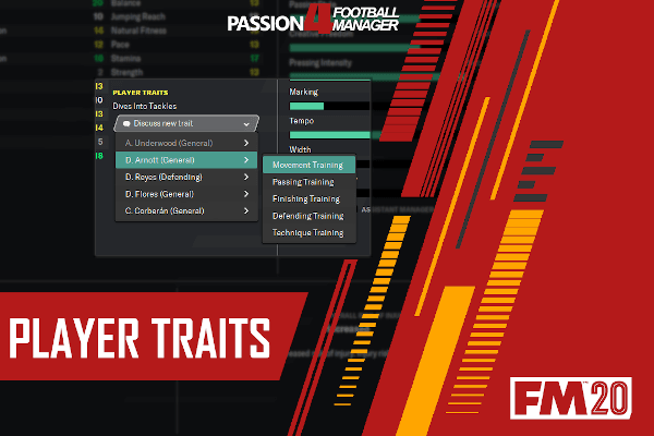 Player Traits ; Football Manager Guide