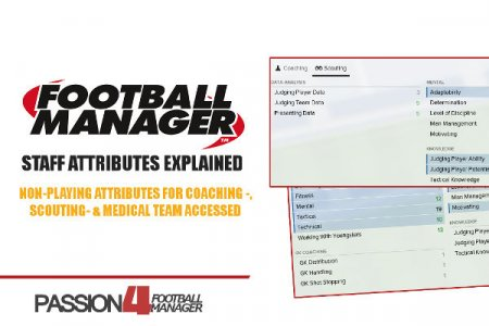 Football Manager staff attributes explained