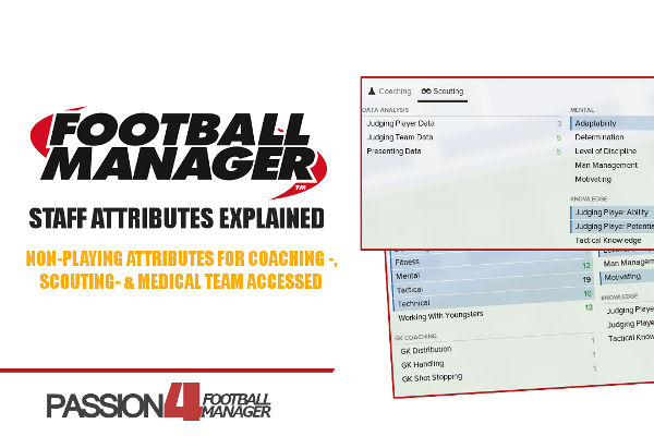 Football Manager Staff Attributes Explained • Passion4FM