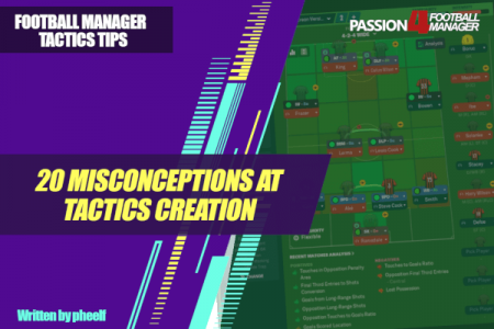 Common misconceptions at tactics creation