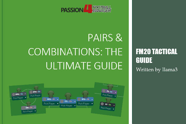 Football Manager tactics guide player role combinations and duty pairs