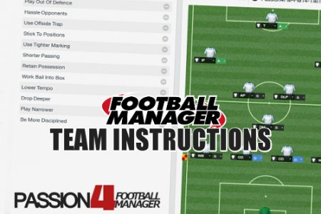 Football Manager Team Instructions