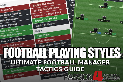 Football Playing Styles – The Ultimate Football Manager Tactics Guide
